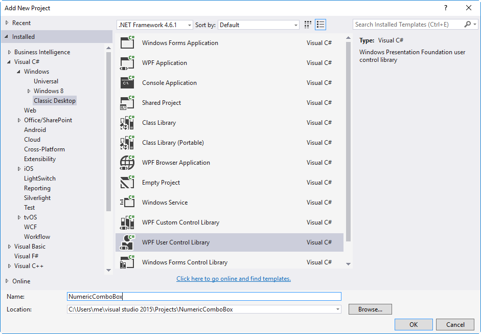WPF Thoughts: Numeric Editable ComboBox in WPF