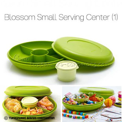 Blossom Small Serving Center ~ Katalog Tupperware Promo Mei 2016