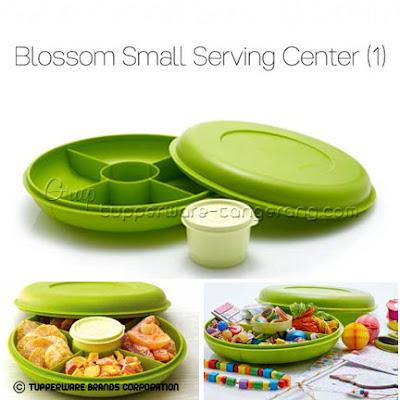 Blossom Small Serving Center ~ Katalog Tupperware Promo Mei 2016