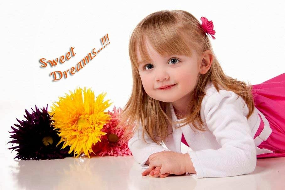 baby-girl-spring-flower-image