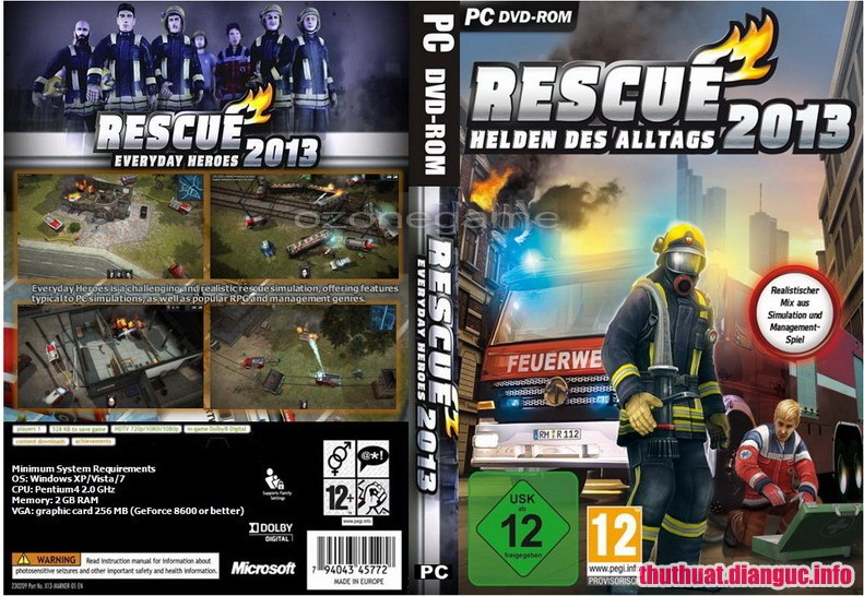 Download Game Rescue 2013 Everyday Heroes - RELOADED Fshare