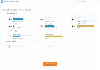 Recover Lost Data With EASEUS Data Recovery Wizard Free