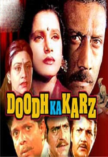 Doodh Ka Karz 1990 Hindi 480p HDRip 450MB