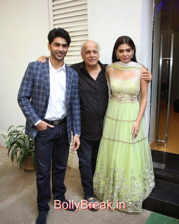 Taaha Shah, Mahesh Bhatt, Sara Loren, Hot Pics of Sara Loren, Shweta Pandit At 'Barkhaa' Trailer Launch