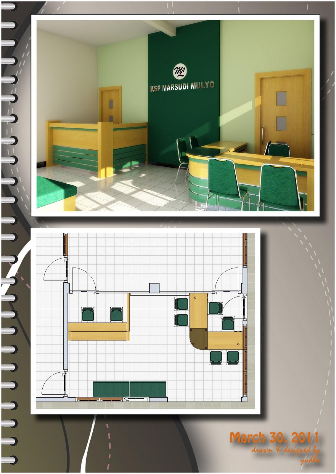 Interior Ruangan Pelayanan contoh gambar desain desain