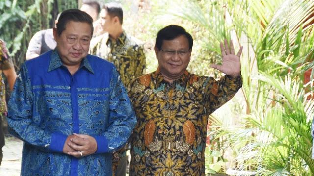Tegas, SBY: Pak Prabowo Calon Presiden Kita