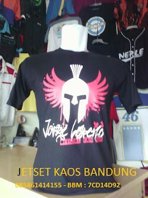 Kaos Murah Sablon Bandung grosir kaos murah