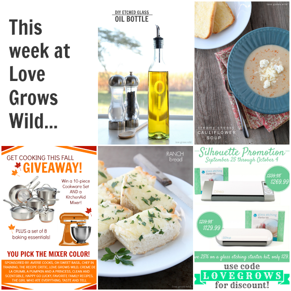 This week at Love Grows Wild