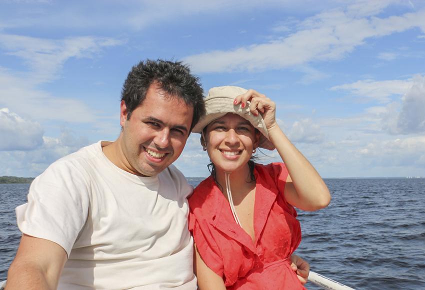 Fernanda e Maurício