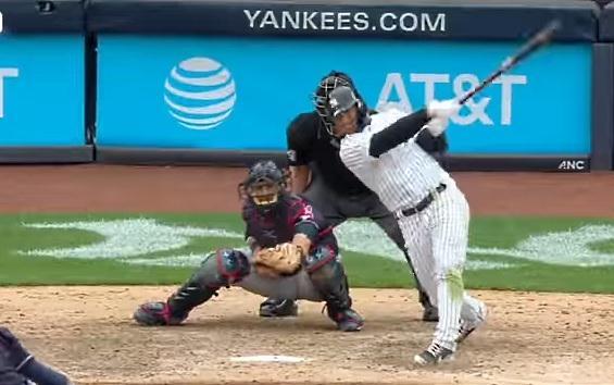 VIDEO: Yankees dejan en el teereno a Cleveland con Jonron del caraquista Gleyber Torres