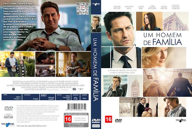 Capa DVD Um Homem de Família [Exclusiva]