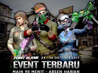 Hadiah dan Detail Informasi Hadiah Event PB Garena 25 Oktober 2017 Spesial Terima Kasih Troopers