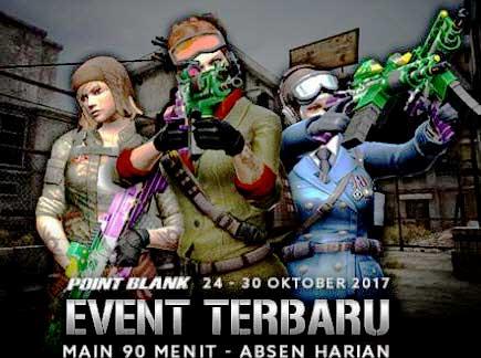 Event PB Garena 25 Oktober 2017 Spesial Terima Kasih Troopers