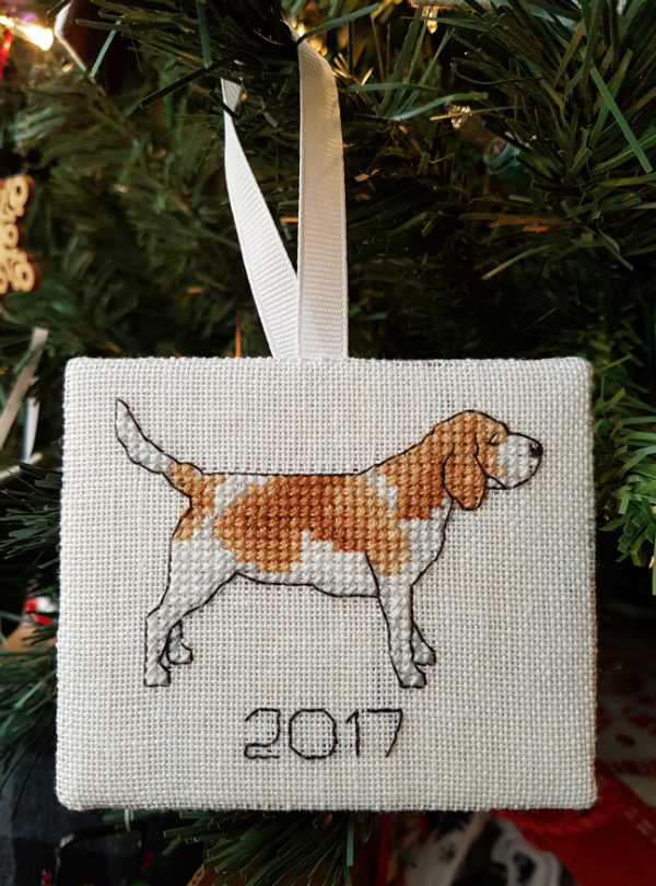 Cross stitch ornaments | DevotedQuilter.blogspot.com