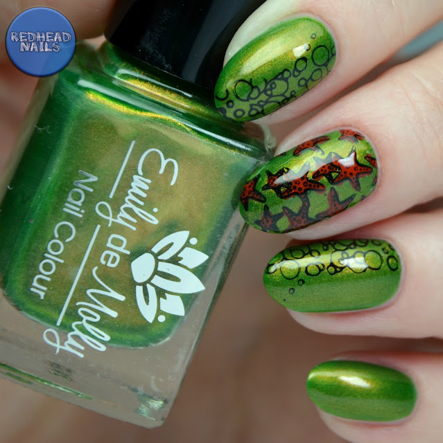 Emily de Molly Escape Artis swatch