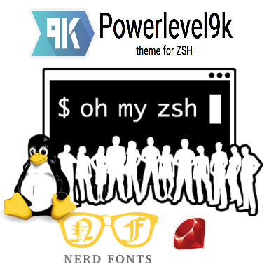 Linux Power Terminal with Oh My Zsh and Powerlevel9k