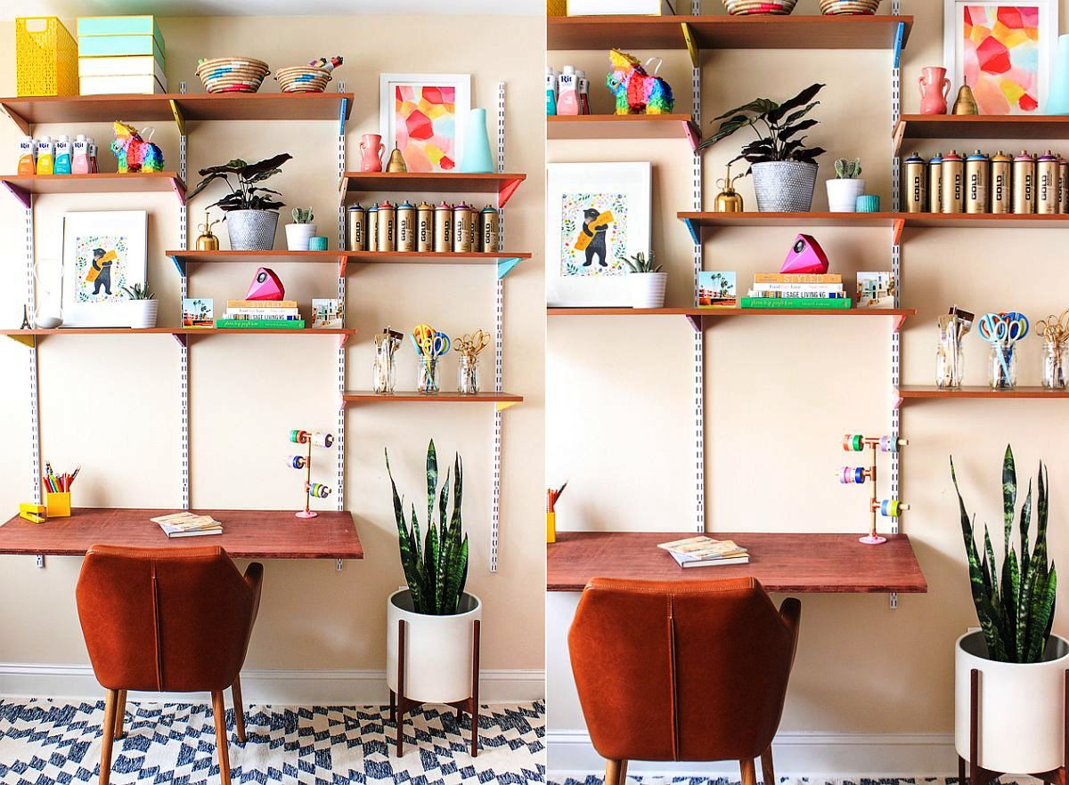 20 DIY HOME OFFICE ORGANIZATION - CareDecor