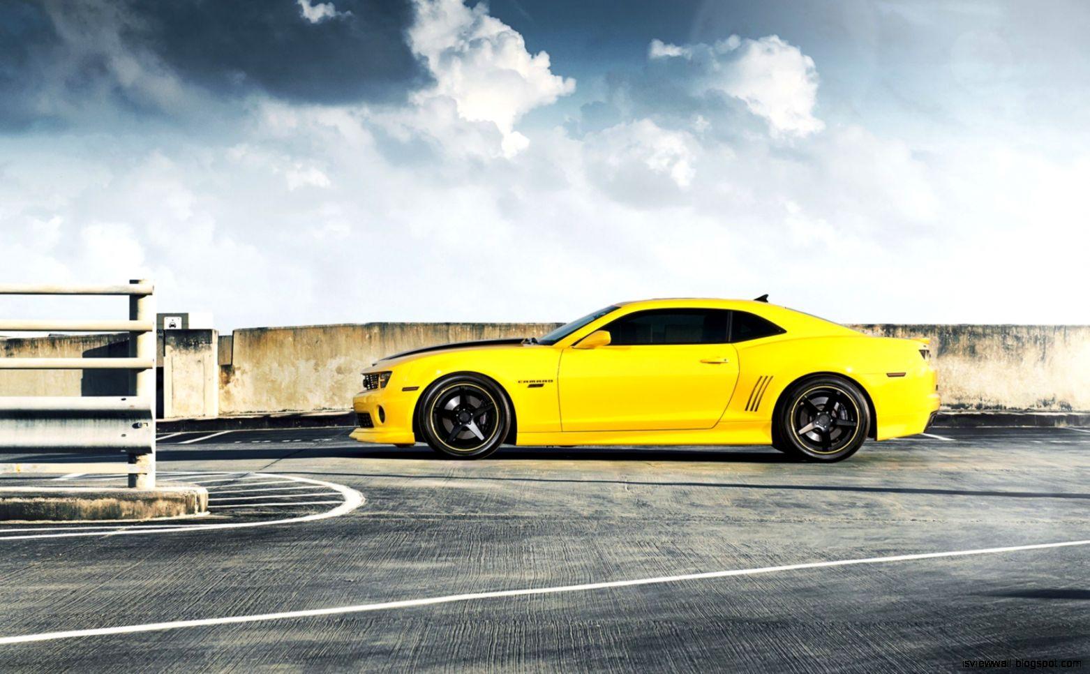 yellow camaro wallpaper - photo #19