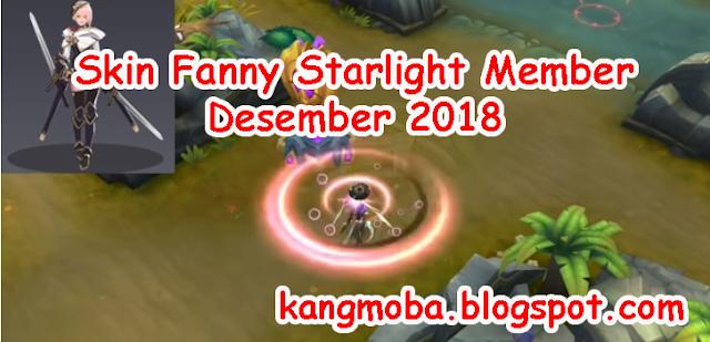 Skin Fanny Starlight Member Desember 2018 | KangMoba