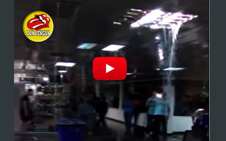 Aeropuerto de Puerto Ordaz recibe a los visitantes con bellas cataratas en sus techos