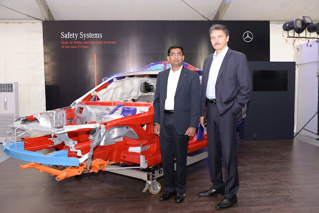 Mr. Manu Saale, Managing Director & CEO, MBRDI and Prof. Schöneburg, Director Mercedes-Benz Cars, Development Safety, Durability, Corrosi-min