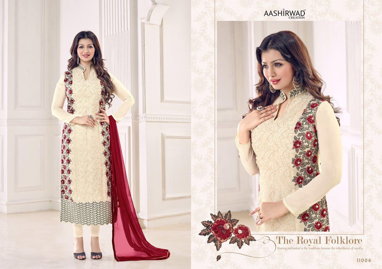 Ayesha Takia vol 1 - Simple Long Designer Georgette Salwar Suits ...
