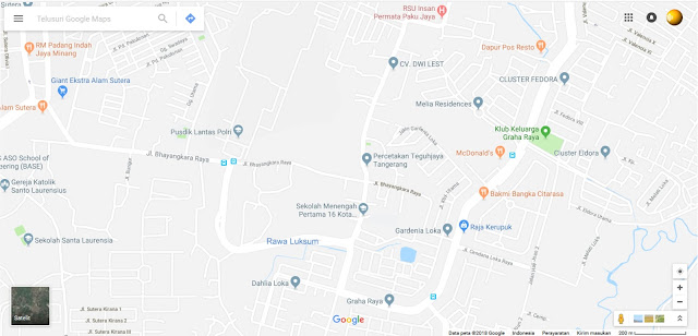 Google Map to Teguhjaya