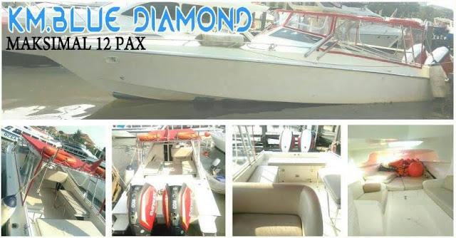 Blue Diamond kapasitas maksimal 12 orang