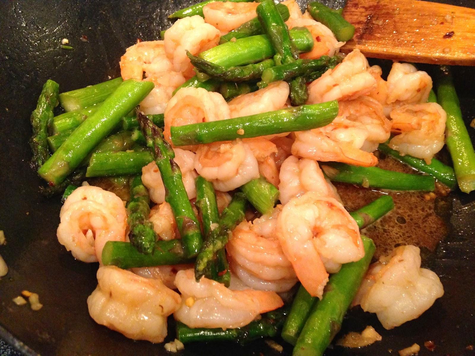 Rita's Recipes: Shrimp & Asparagus Stir-Fry