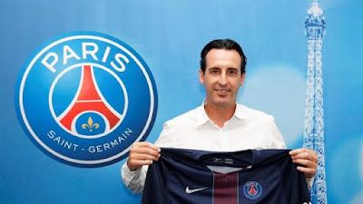 Unai Emery entrenador del PSG