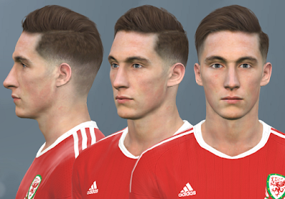 PES 2017 Faces Harry Wilson by WER Facemaker