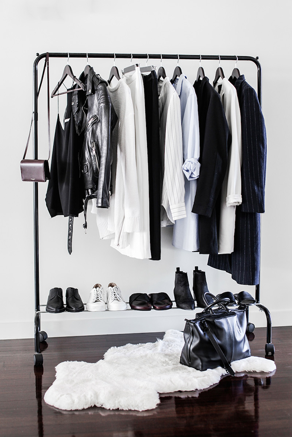 Minimalist capsule wardrobe and 3 tips to shop less
