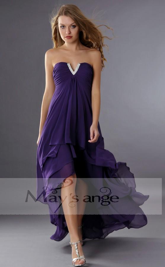 3c2fc8623cb Une robe violette est parfaite pour assister à un mariage pendant le  printemps ou l été ou se distinguer lors d une soirée. Pour pouvoir tirer  le meilleur ...