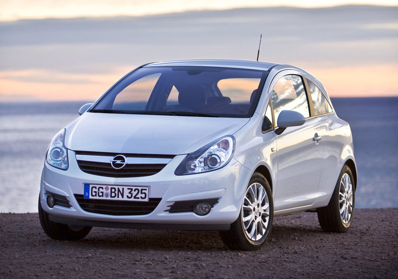Auto Cars Project Opel Corsa 2010