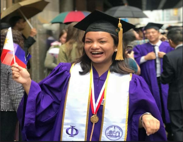 Pinay Graduates Summa Cum Laude from New York University