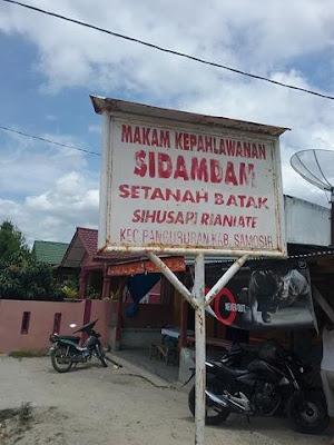 Wisata di Makam Pahlawan Sidamdam Samosir, Ini Nama-nama Pahlawannya