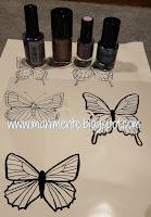 stampa farfalle di base