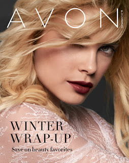 avon catalog winter wrap up sale flyer