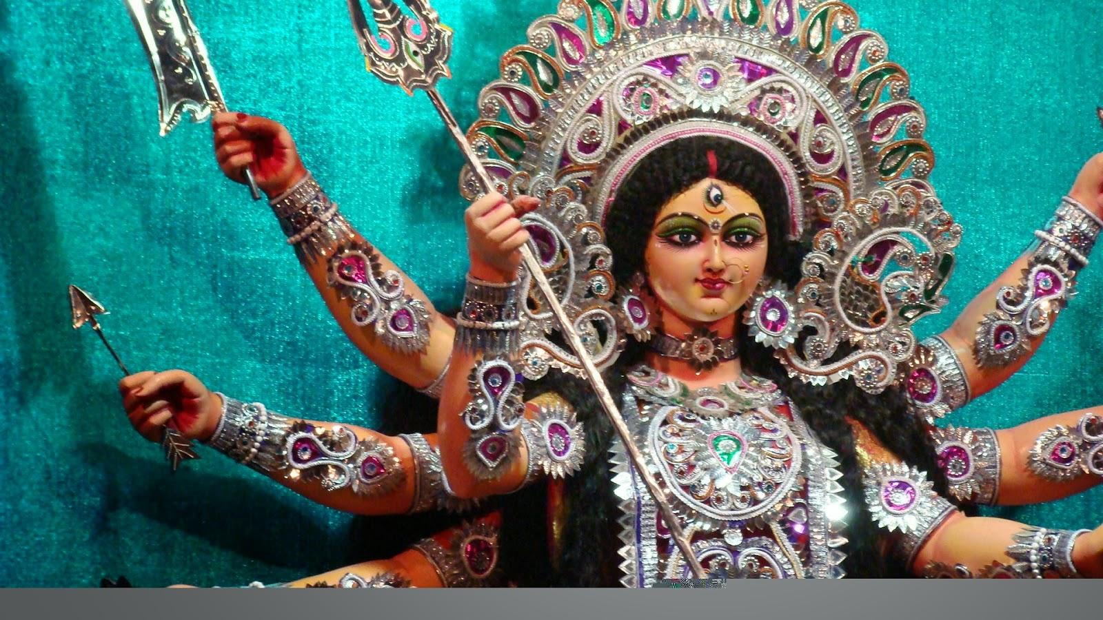 Durga Puja Hd Wallpaper: Durga Puja Wishes Lord Maa Durga Hd Free