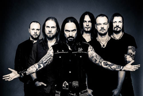 Amorphis line up 2018