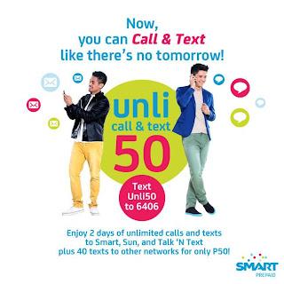 Smart Unli 50 promo