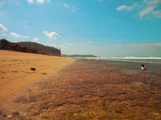 Sepanjang beach