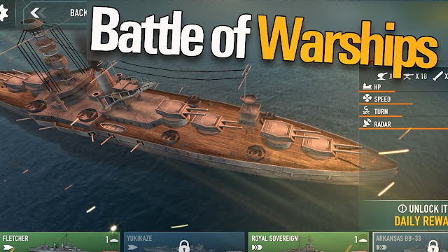 Download Battle of Warships v1.39 Mod Apk