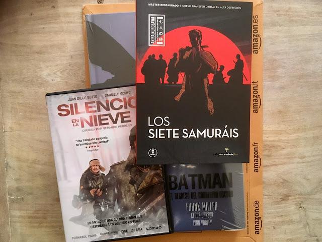 Amazon (Los siete samuráis, Silencio en la nieve y Batman: El regreso del caballero oscuro) y Canal Historia con Faraones, ocio garantizado, junto con Watchmen para unos cuantos días - el troblogdita - el fancine
