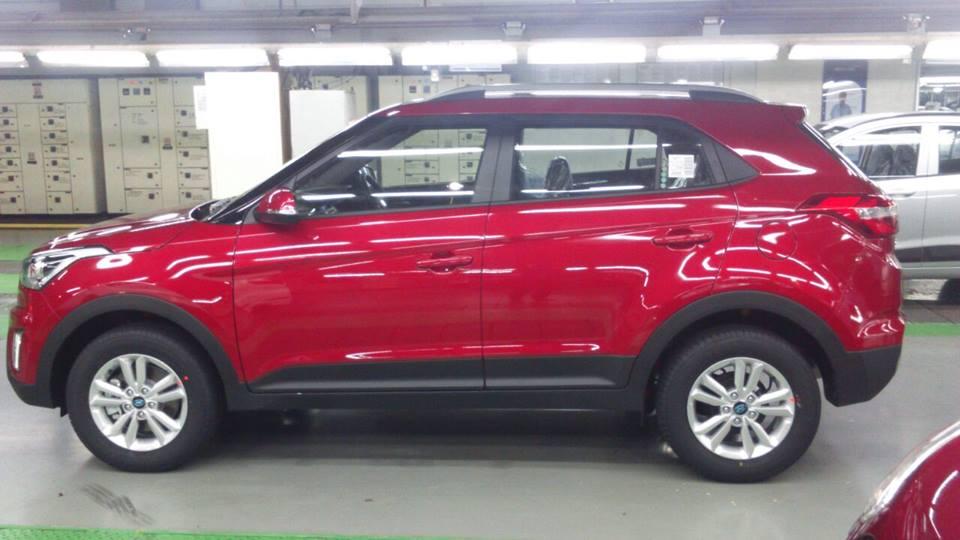 New Hyundai Creta Small Suv Scooped Undisguised Carscoops