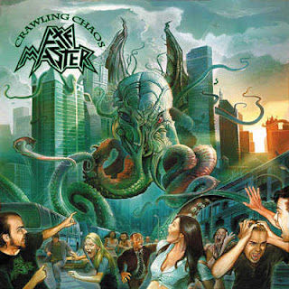 "Axemaster - ""10,000 Pound Hammer"" (video) from the album ""Crawling Chaos"""