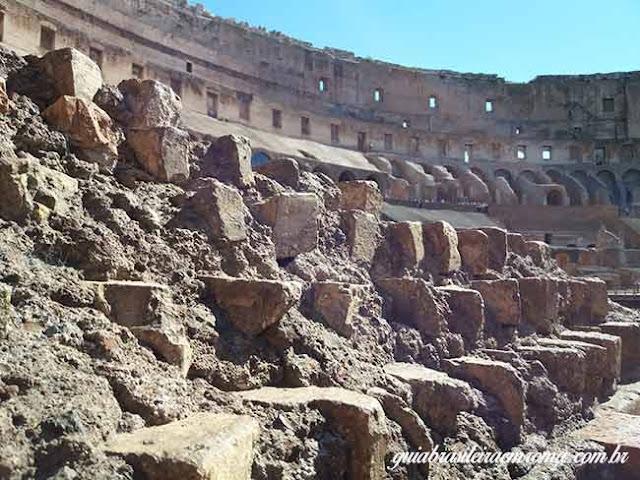 coliseu brasileiros material construcao - O Coliseu para brasileiros