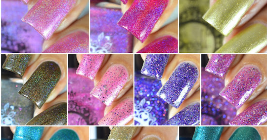 Spell Polish Duds III Collection - Swatches And Review