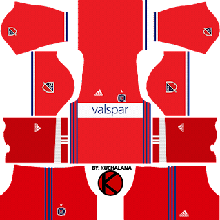 Chicago Fire Kits 2017 - Dream League Soccer
