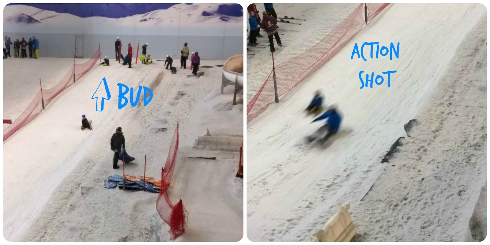 Snow Park at Chill Factore Christmas 2014